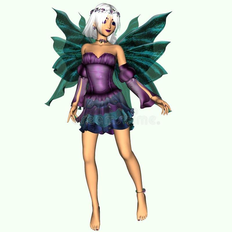 Crystal chiamato Fairy illustrazione vettoriale
