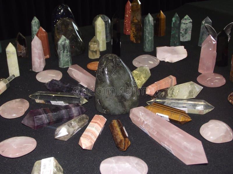Crystal Circle stock photo