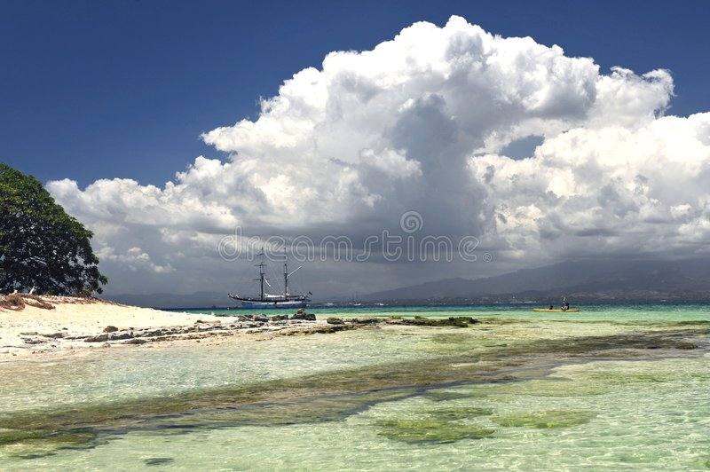 Download Crystal Clear Waters stock image. Image of pacific, resort - 7048529
