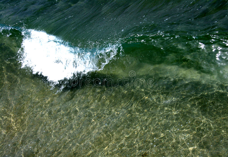 Crystal Clear Wave stock photography