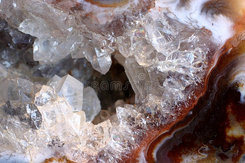 Crystal close up royalty free stock images