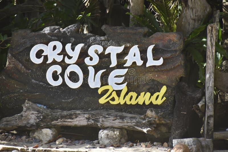 Crystal Cove photo libre de droits