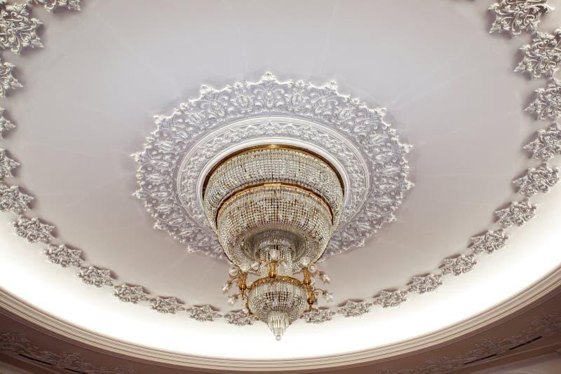 crystal deluxe żyrandol zdjęcia royalty free
