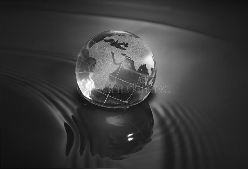 Crystal Earth Ball Stock Photos