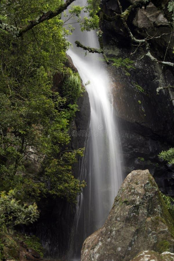 crystal falls royaltyfri bild