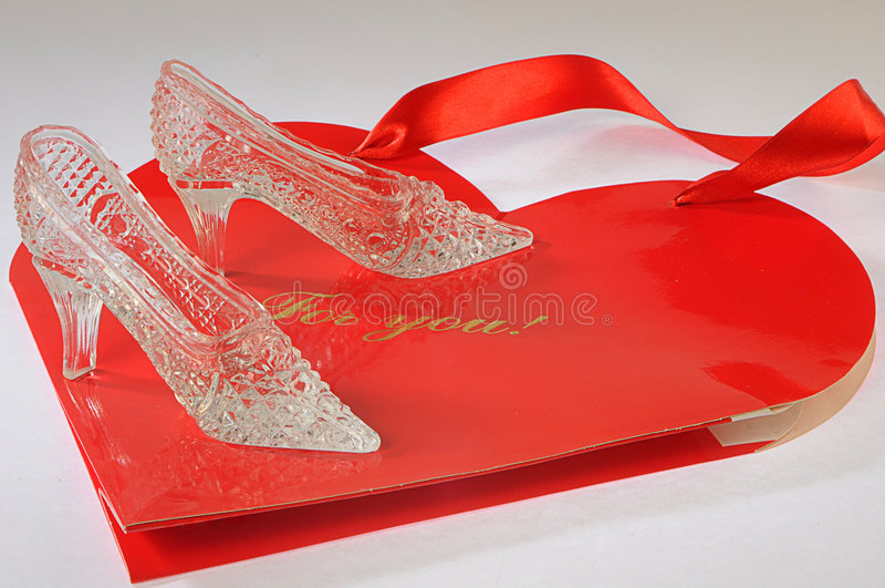 Download Crystal Fancy Shoes For Cinderella Stock Photo - Image: 7823274