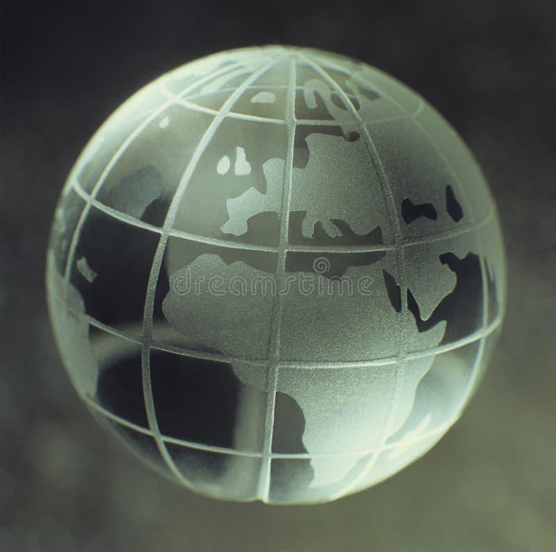 Crystal Globe royalty free stock photo