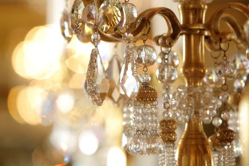 crystal hänga royaltyfri bild