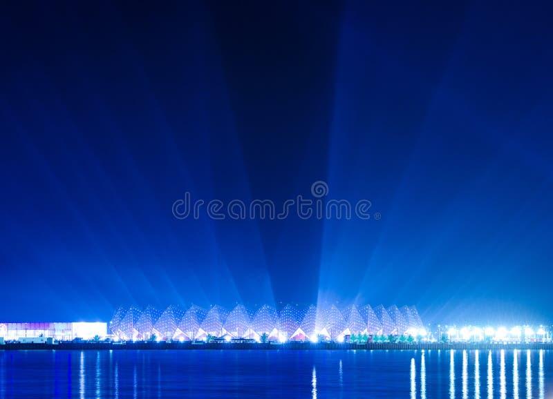 Crystal Hall - Eurovision 2012 venue. Baku Azerbaijan stock images