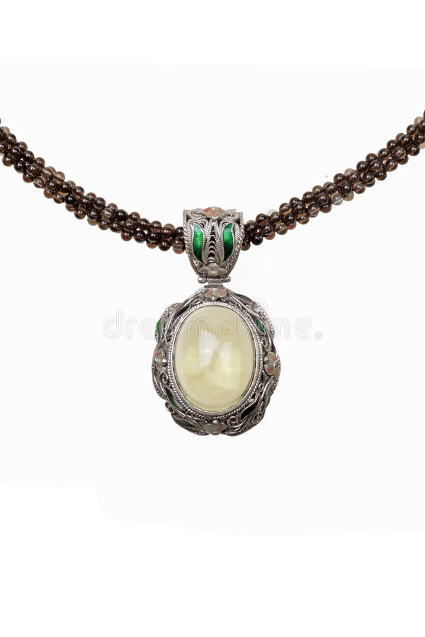 Crystal halsband royaltyfri fotografi