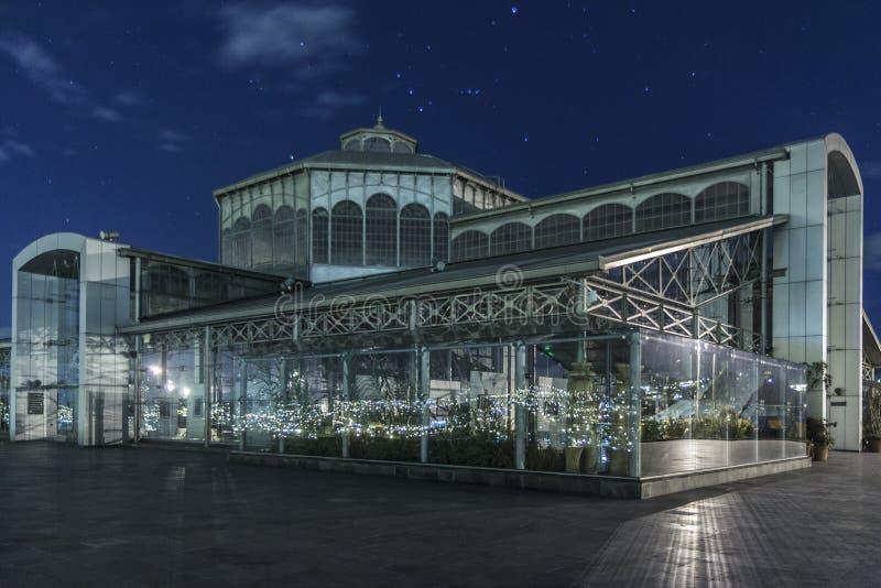 Crystal House no parque de Itchimbia imagem de stock royalty free