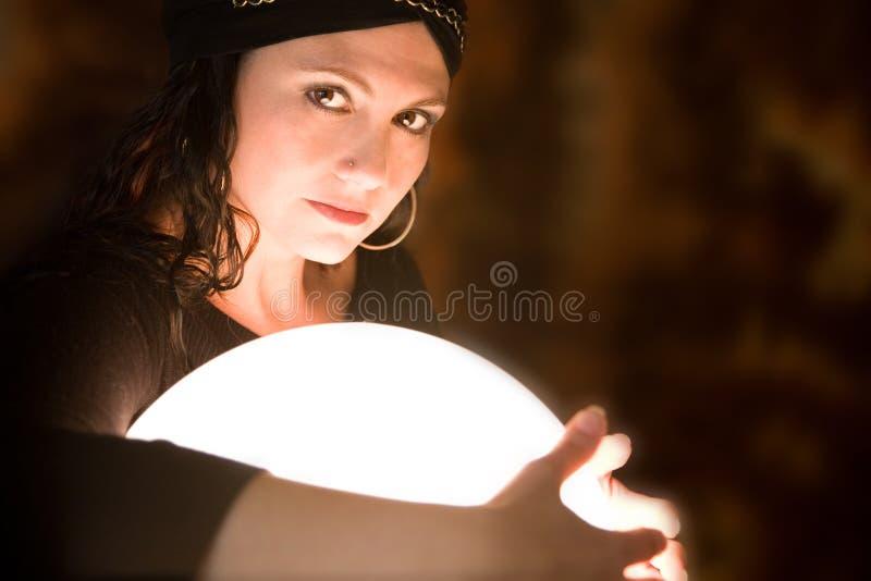 crystal kulowego ochrony obraz stock