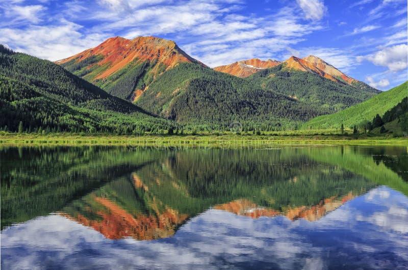 Crystal Lake, San Juan Mountains, Colorado foto de archivo libre de regalías