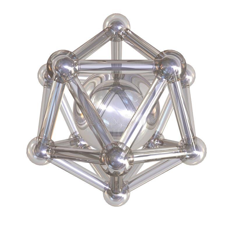 Free Crystal Lattice Royalty Free Stock Image - 17988976