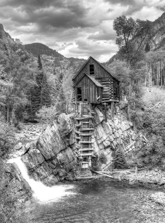 Crystal Mill fotografie stock