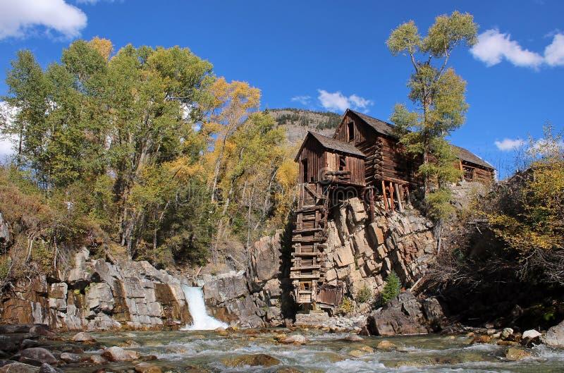 Crystal Mill, Colorado stock photos