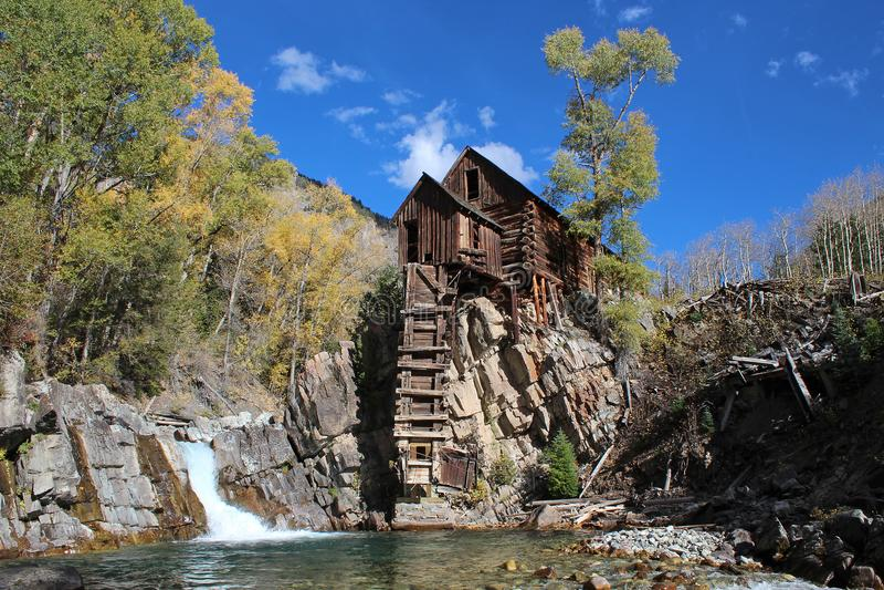 Crystal Mill, Colorado royalty free stock photo