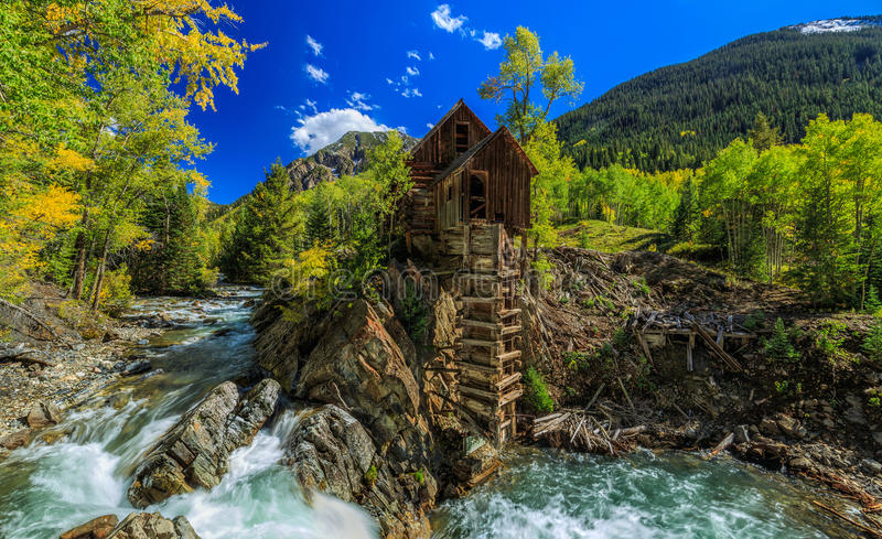 Crystal Mill stock photography