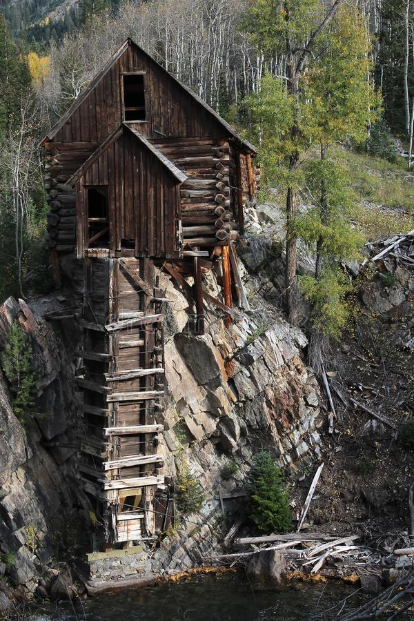 Crystal Mill, Colorado royalty free stock images