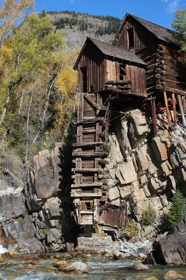 Crystal Mill, Colorado stock photography