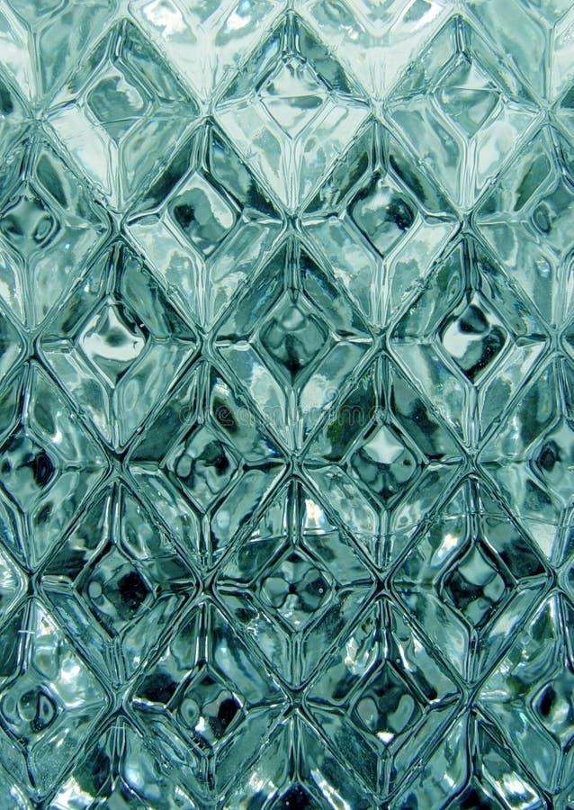 crystal modell royaltyfria bilder