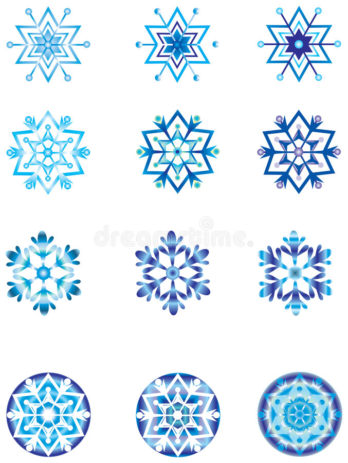 Download Crystal Modulation Of A Snowflake 1. Stock Vector - Image: 6830789