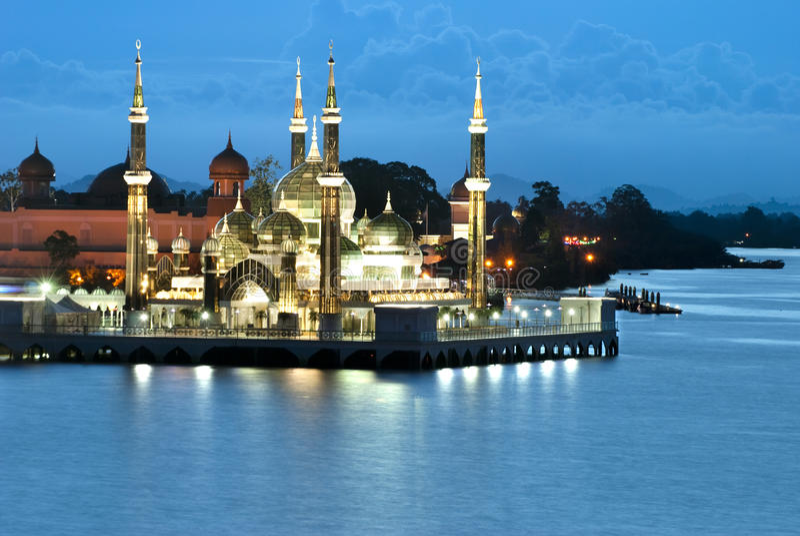 Download CRYSTAL MOSQUE, Kuala Terengganu Stock Image - Image: 21805139