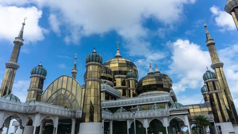 Crystal Mosque or Masjid Kristal in Kuala Terengganu, Terengganu, Malaysia royalty free stock photo