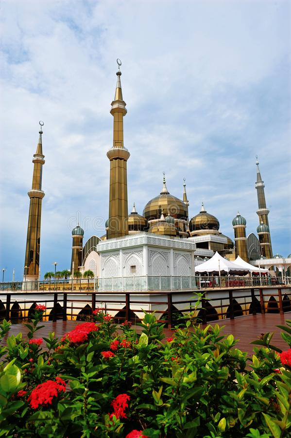 Crystal Mosque ou Masjid Kristal photos libres de droits