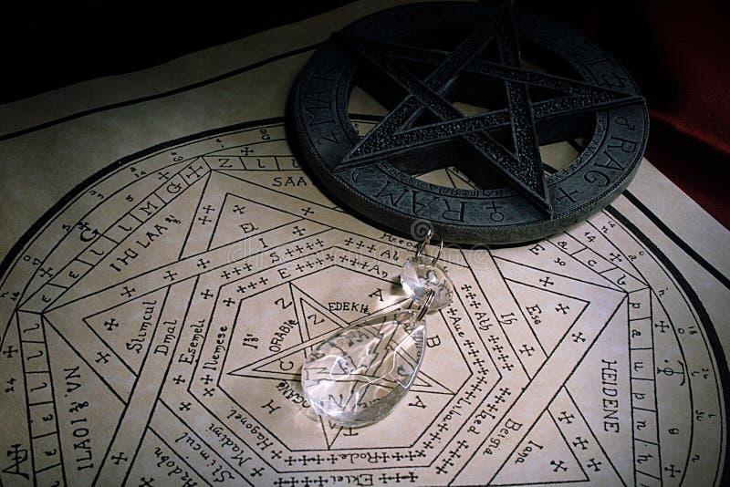 crystal mysticism arkivbilder