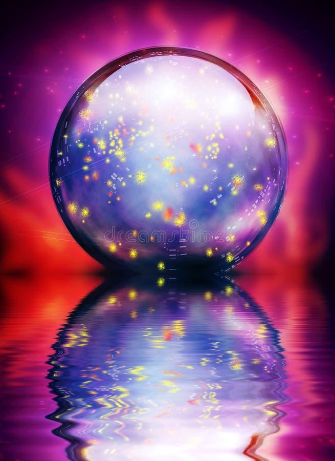 Crystal Orb illustration de vecteur