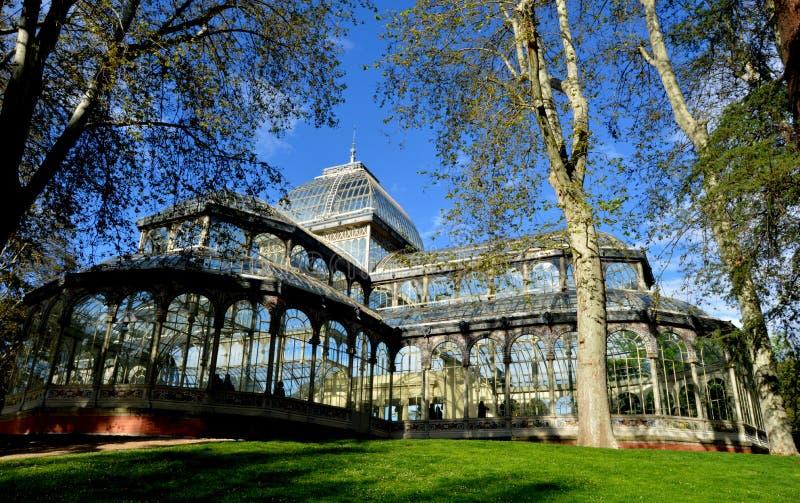 Crystal Palace royalty-vrije stock afbeeldingen