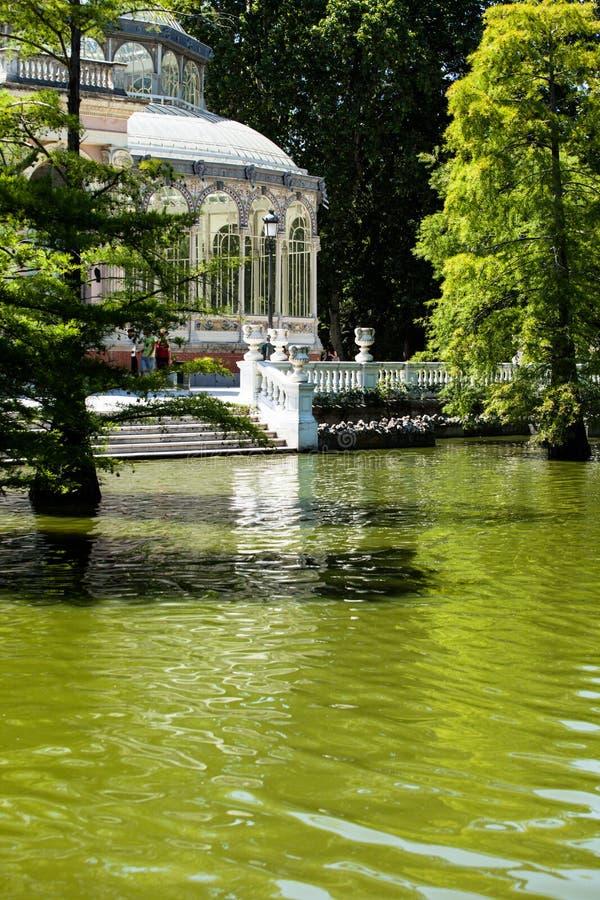 Download Crystal Palace (cristal Palacio De) I Retiro Parkerar, Madrid, Spanien. Arkivfoto - Bild av självständighet, landmark: 37344612