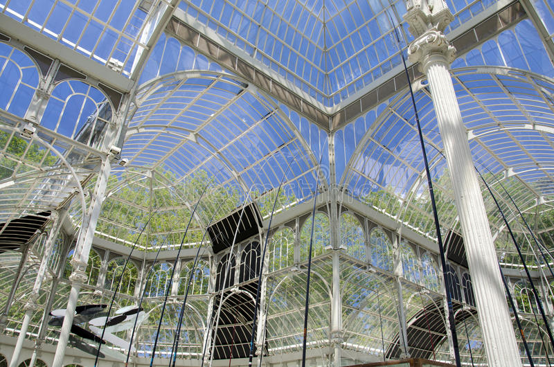 Download Crystal Palace In Madrid Stock Image - Image: 29643521