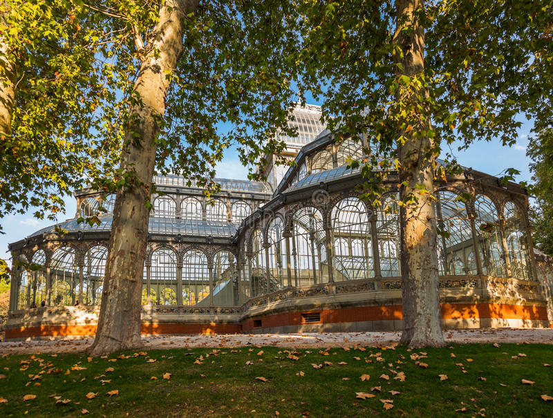 Download Crystal Palace At Madrid Spain Stock Photos - Image: 27397953