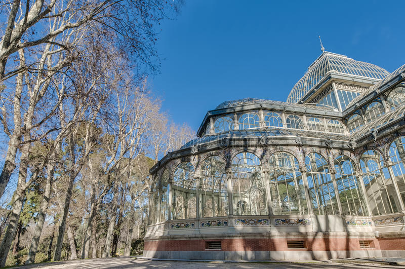 Download Crystal Palace Sul Parco Di Retiro A Madrid, Spagna Immagine Stock - Immagine di storico, cityscape: 55360217
