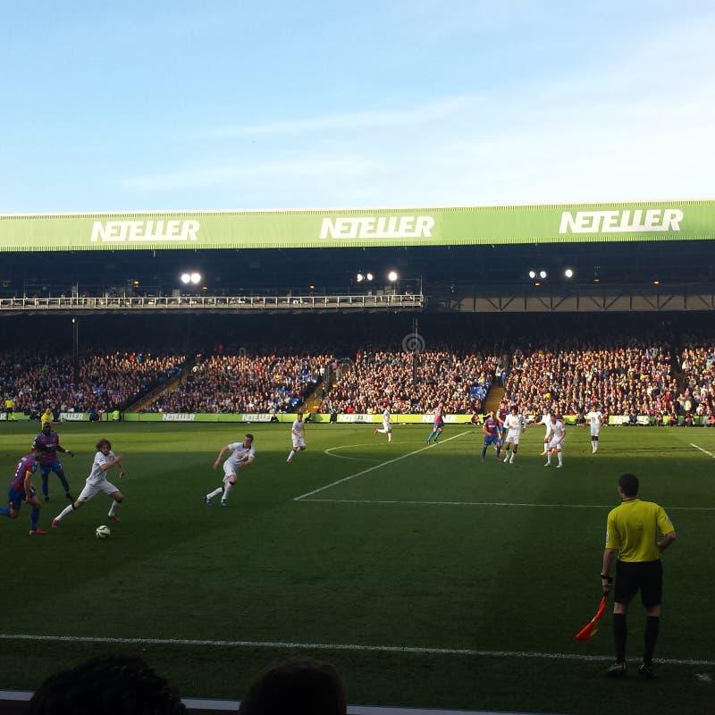 Crystal Palace und Manchester United stockfotografie