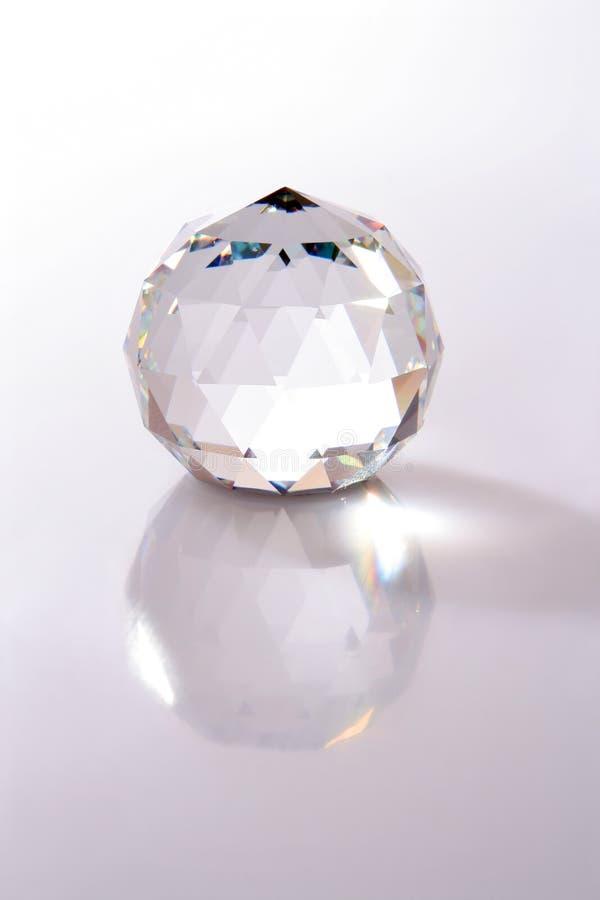 crystal piłkę fotografia stock