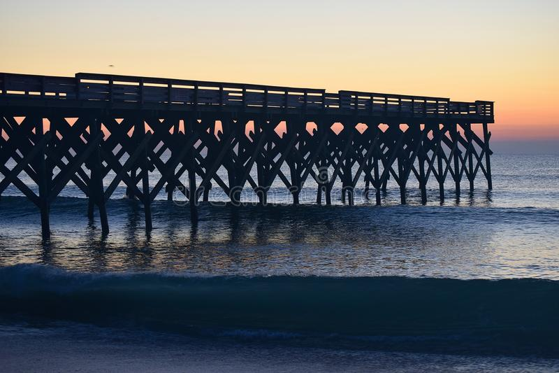 Crystal Pier stock image