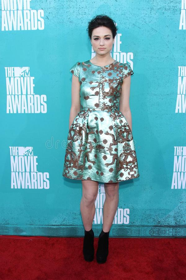 Crystal Reed at the 2012 MTV Movie Awards Arrivals, Gibson Amphitheater, Universal City, CA 06-03-12