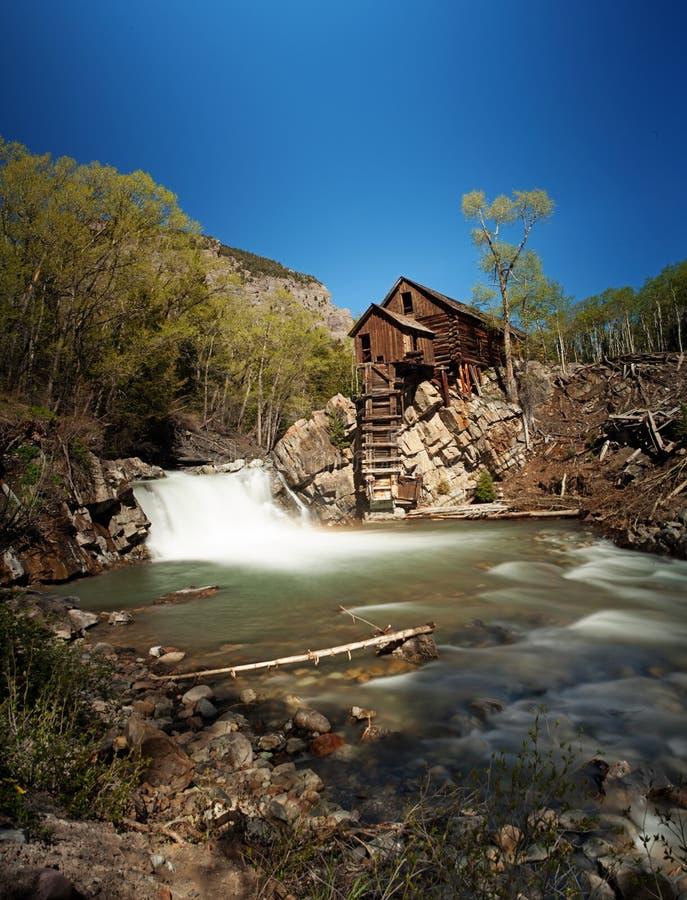 Crystal River en de Verloren Paardmolen stock foto