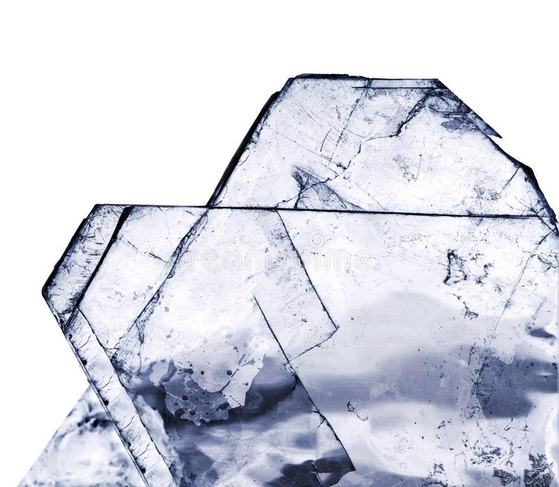 The crystal salt stock photography