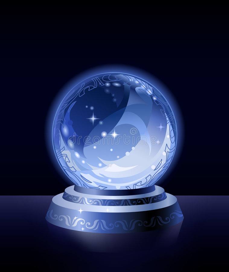 Free Crystal Scrying Ball Stock Images - 6922614