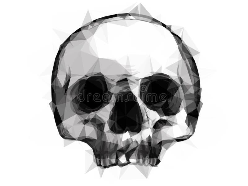 Crystal Skull illustration libre de droits
