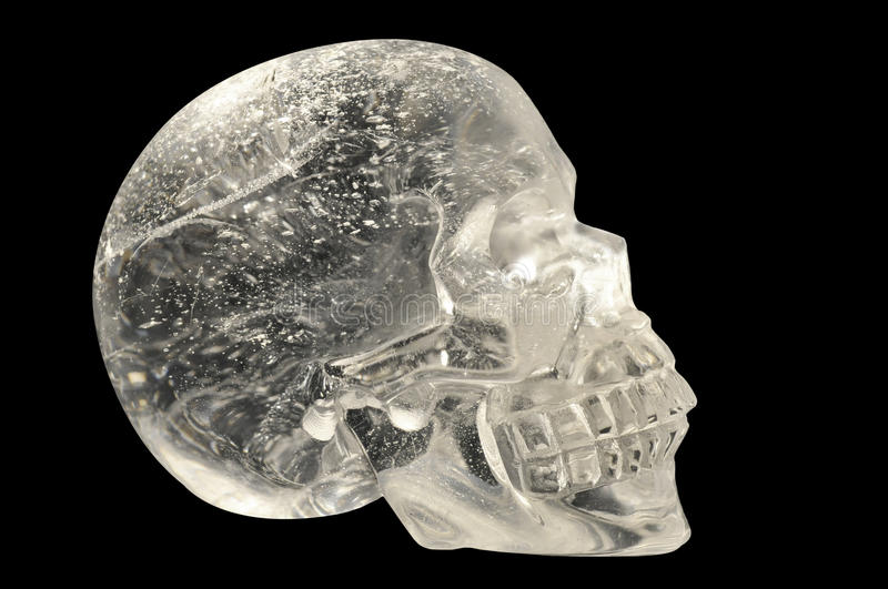 Download Crystal Skull stock photo. Image of glass, antique, refraction - 26599526