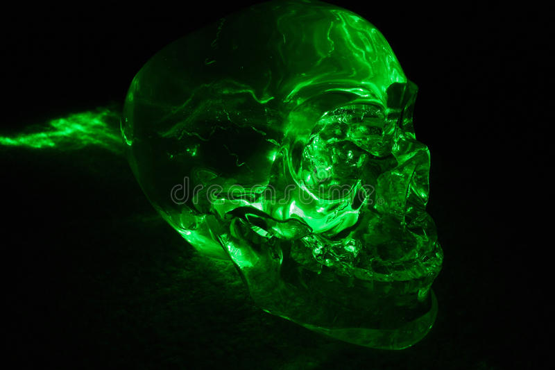 Crystal Skull fotos de stock royalty free