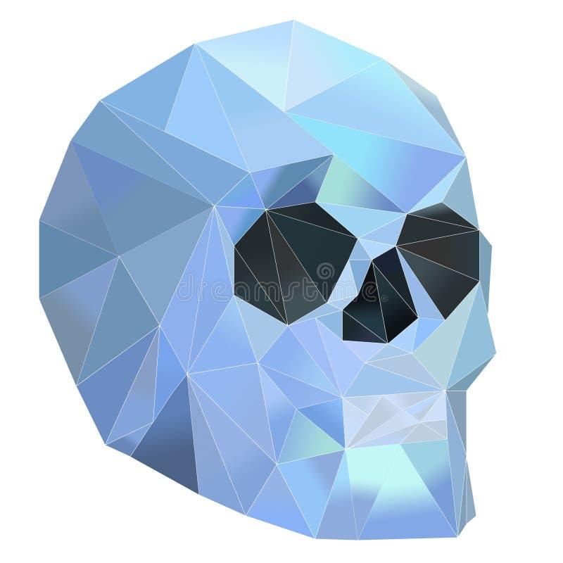 Crystal Skull illustration de vecteur