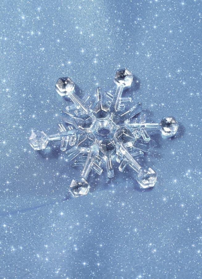 crystal snowflake arkivfoto