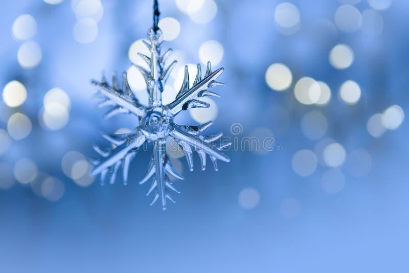 Crystal Snowflake fotos de archivo