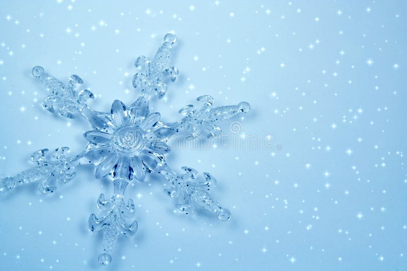 Download Crystal snowflake in snow stock photo. Image of play, element - 1600038